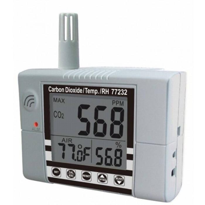 Настенный контроллер углекислого газа, термогигрометр 77232