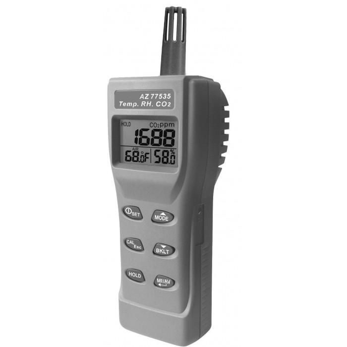 Портативный анализатор CO2 в воздухе, термогигрометр 77535