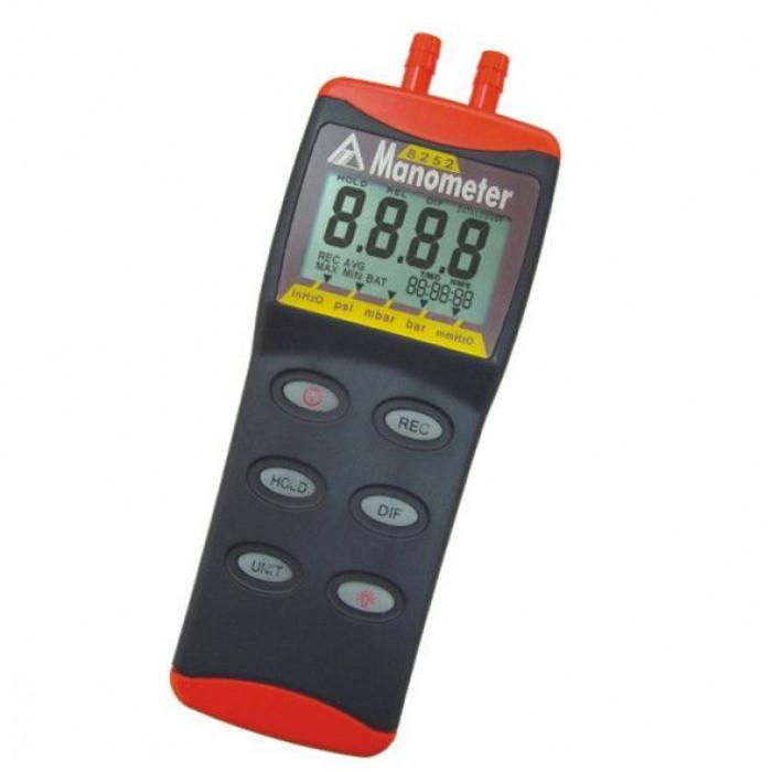 Цифровой манометр до 2psi с компьютерным интерфейсом 8252