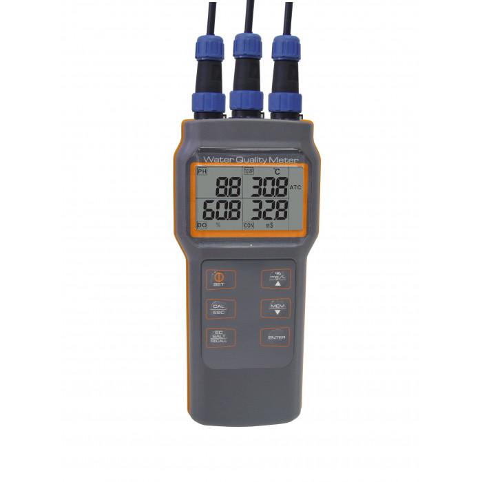 Портативный измеритель качества воды c 3-мя выносными электродами 8603