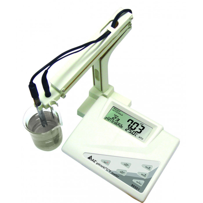 Лабораторный pH метр с держателем электродов 86501