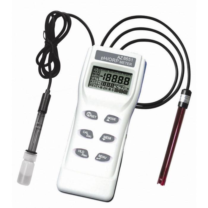 Портативный pH/ORP метр с выносными электродом 8651