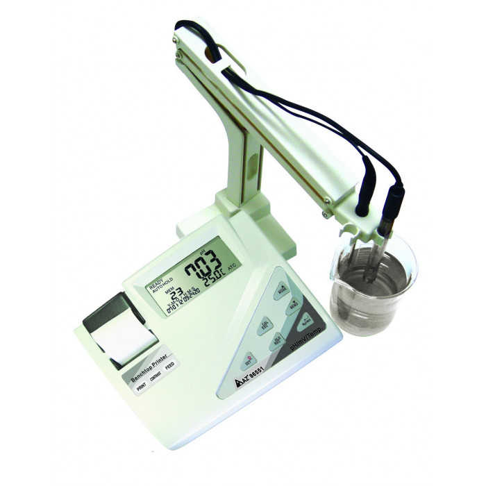 Лабораторный pH метр со встроенным принтером 86551