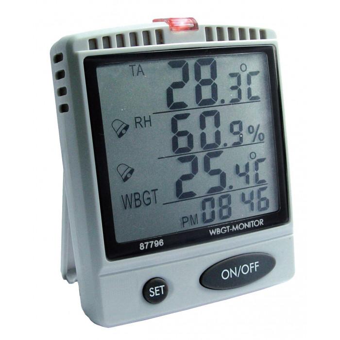 Настольный монитор температуры, влажности воздуха, ощущаемой температуры 87796