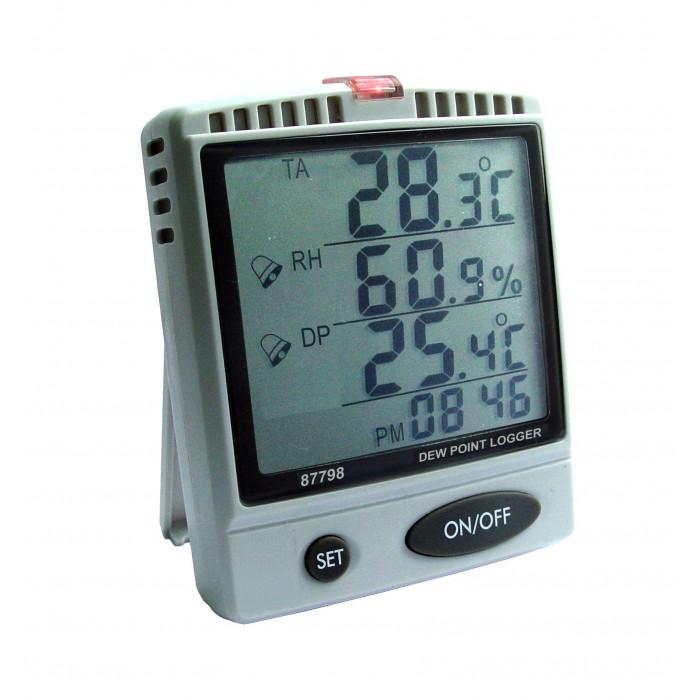 Настольный регистратор температуры, влажности воздуха, температуры точки росы 87798