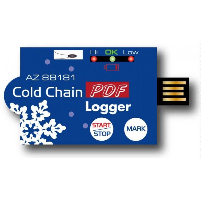 Tемпературный PDF регистратор c USB портом 88181