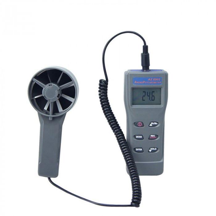 Термоанемометр, гигрометр с выносным датчиком 8902
