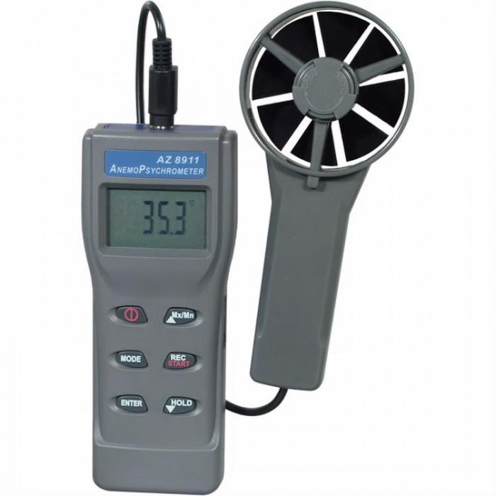 Термоанемометр, гигрометр с выносным датчиком 8911