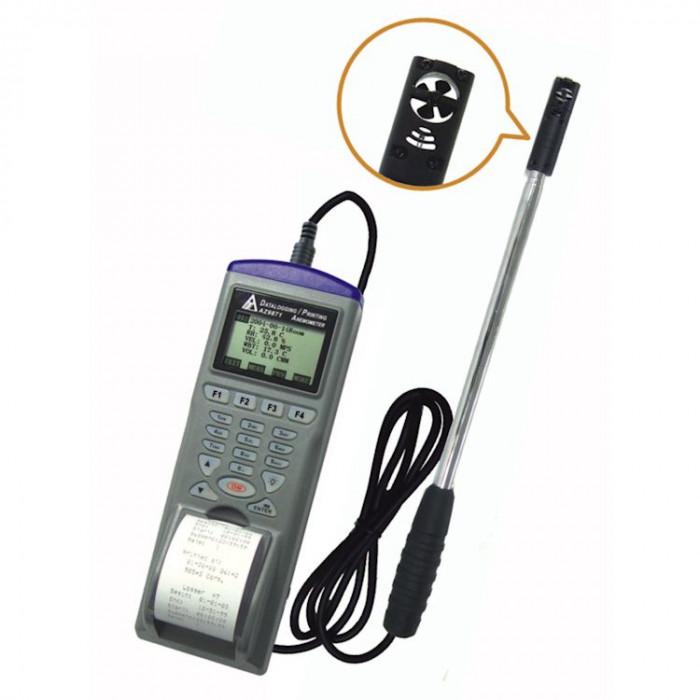 Регистратор параметров воздушного потока с выносным телескопическим датчиком со встроенным принтером 98792