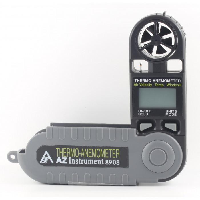 Компактный термоанемометр с фиксированным датчиком 8908