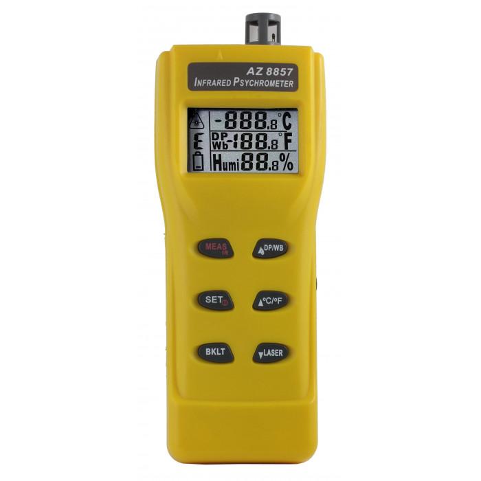 Термогигрометр со встроенным инфракрасным термометром 8857