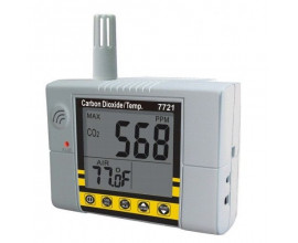 Настенный контроллер углекислого газа, термометр 7721