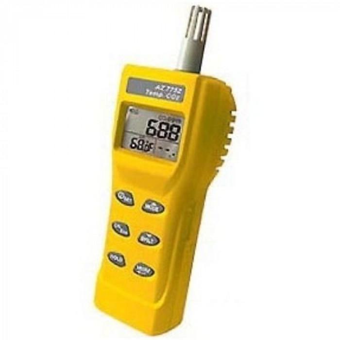 Портативный анализатор CO2 в воздухе, термометр 7752
