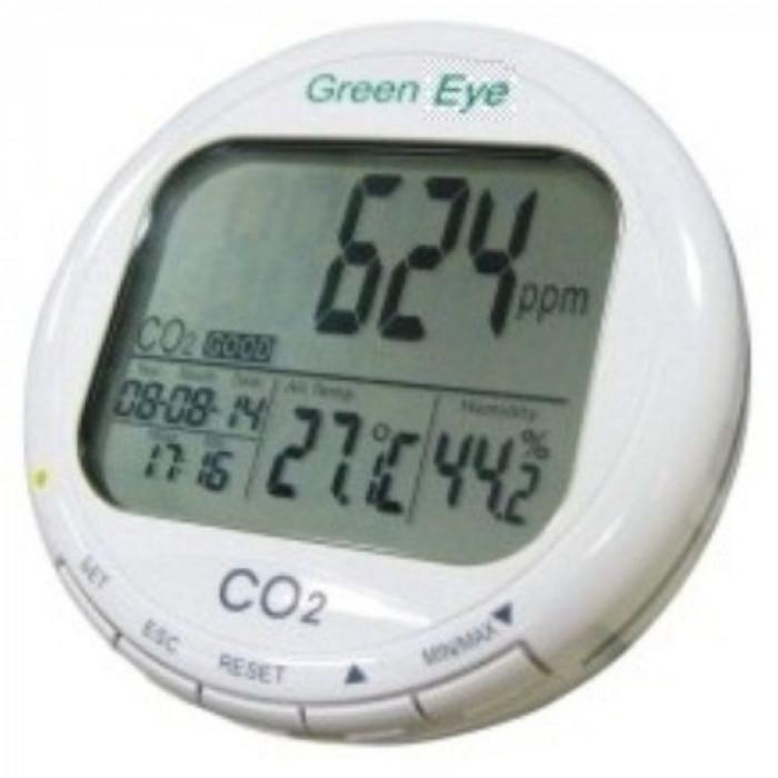 Настольный монитор-регистратор CO2 в воздухе, термогигрометр 7798