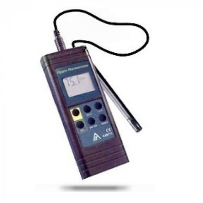 Термогигрометр с функцией измерения температуры точки росы с выносным датчиком 8721
