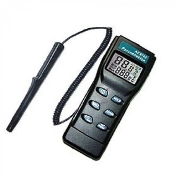 Термогигрометр с функциями измерения температуры точки росы и ощущаемой температуры с выносным датчиком 8723