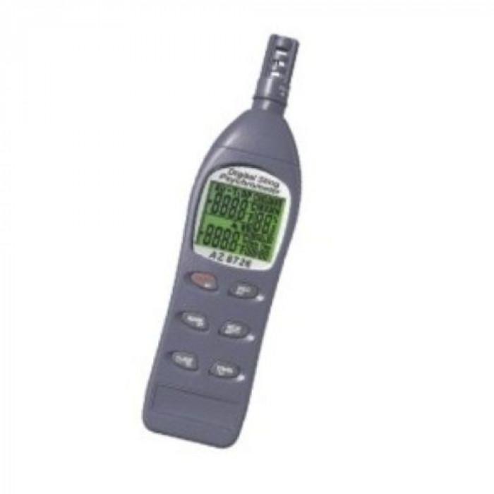 Термогигрометр с функциями измерения температуры точки росы и ощущаемой температуры 8726