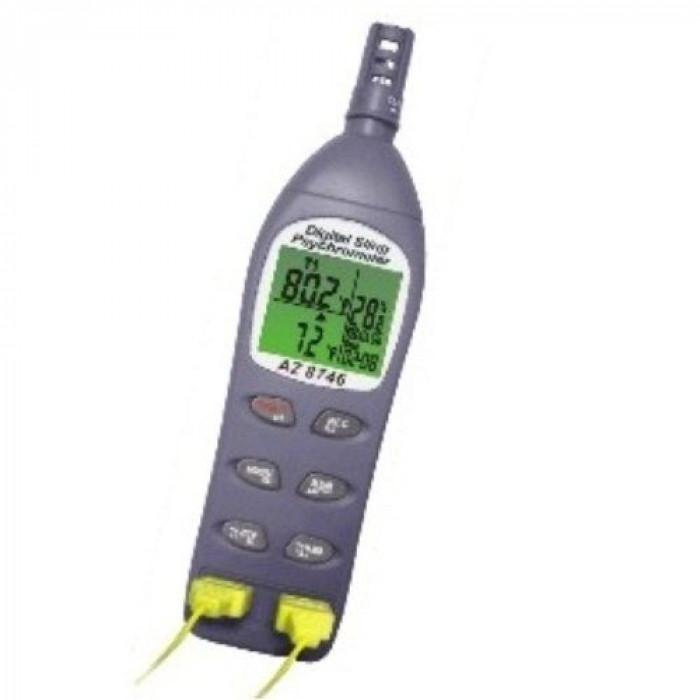 Термогигрометр с 2-мя термопарами K-типа 8746