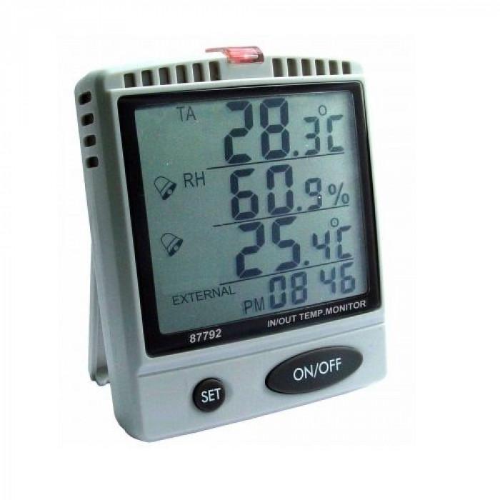 Настольный монитор температуры, влажности воздуха, температуры точки росы 87791