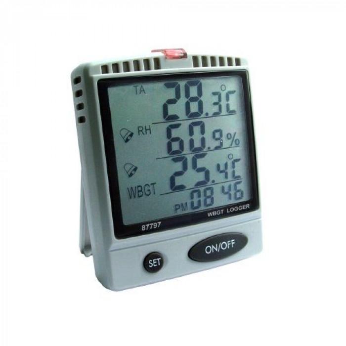Настольный регистратор температуры, влажности воздуха, ощущаемой температуры 87797