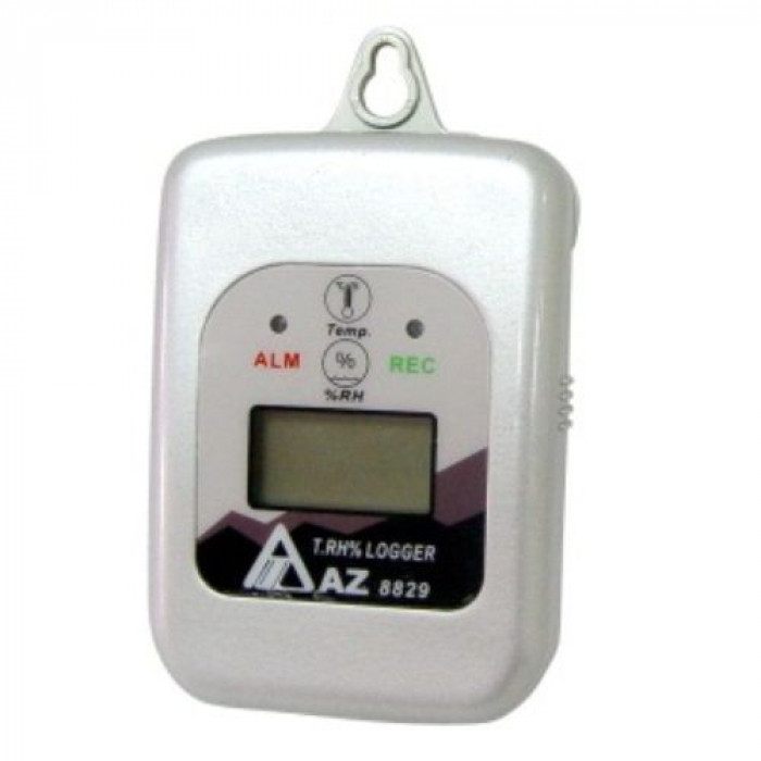 Влагозащищенный регистратор температуры и влажности воздуха 8829