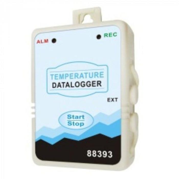 Влагозащищенный температурный регистратор без дисплея со 2-м контактным датчиком 88393