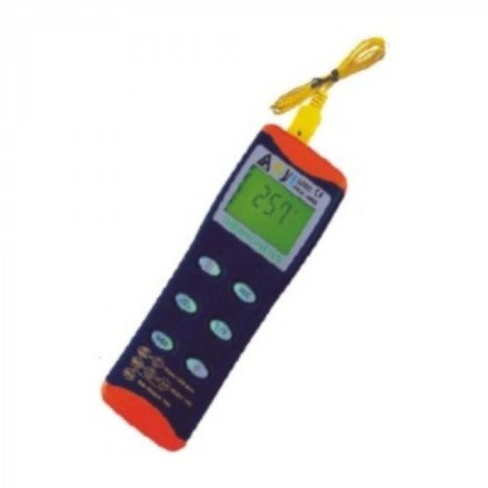 Цифровой контактный термометр с 2-мя входами, совместимый с термопарами K/J/T-типа 8852
