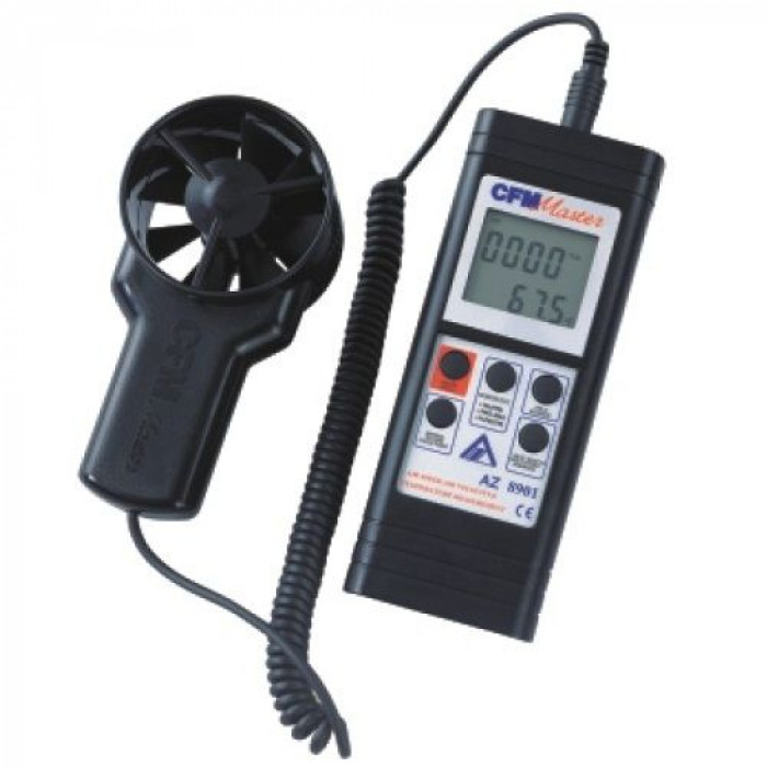 Термоанемометр с выносным датчиком 8901