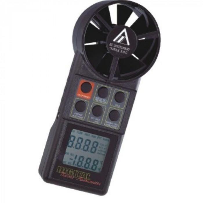 Портативный термоанемометр с фиксированным датчиком 8904