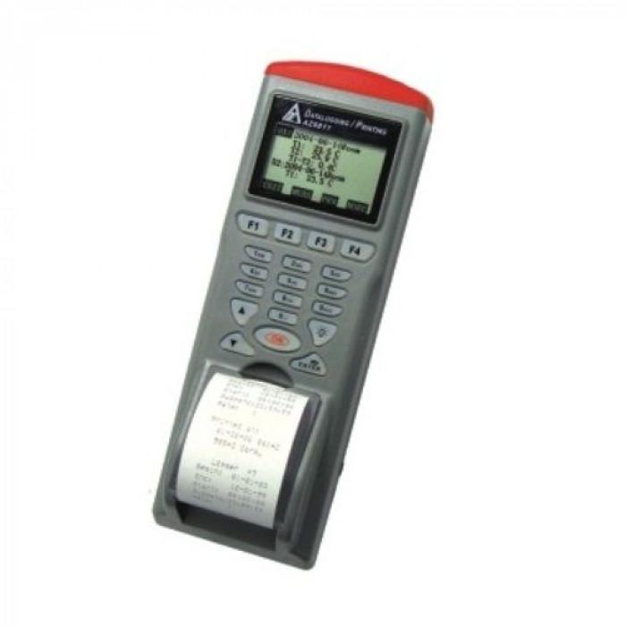 Инфракрасный температурный регистратор со встроенным принтером 9811