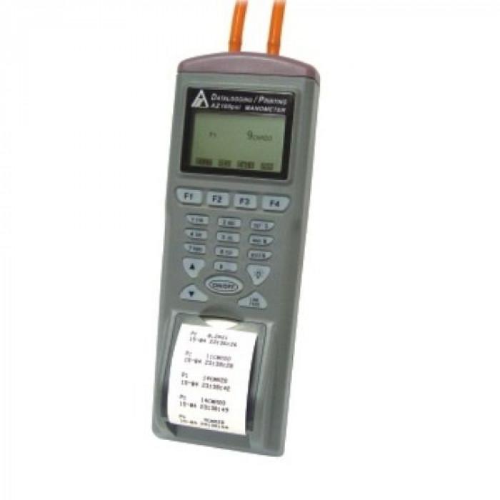 Манометр-регистратор до 5psi со встроенным принтером 9835