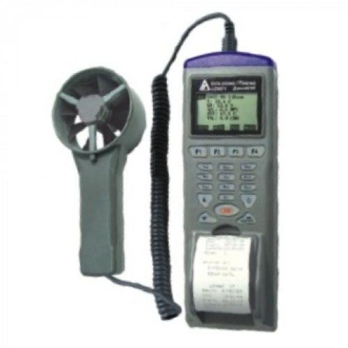 Регистратор параметров воздушного потока с выносным датчиком со встроенным принтером 9871